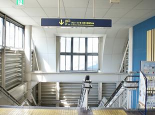 阪急南茨木駅 西出口手前階段